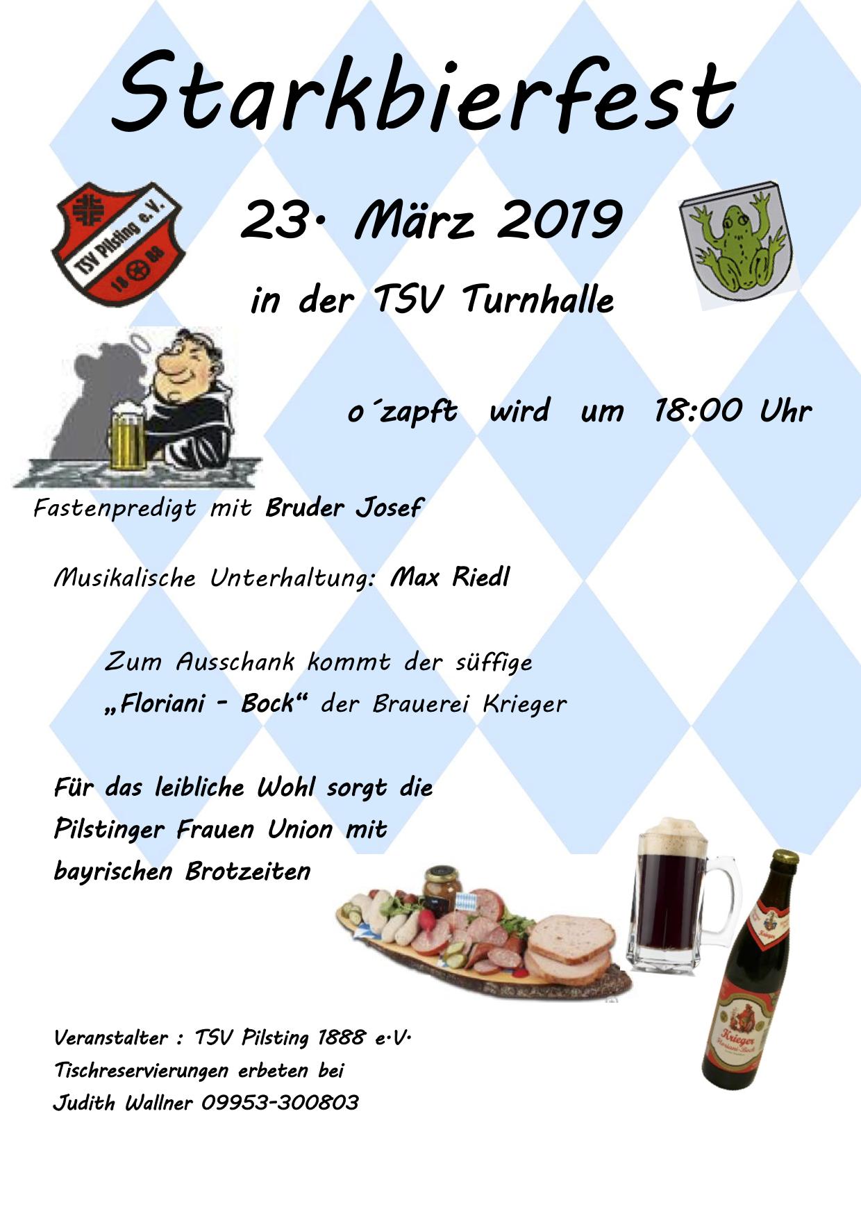 TSV Starkbierfst 2019